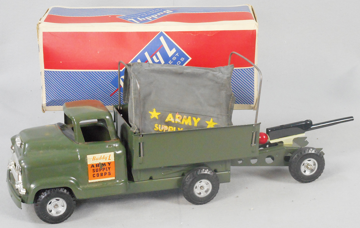 BUDDY-L TANK LINE DECAL SET WITH FLOOR PLATE