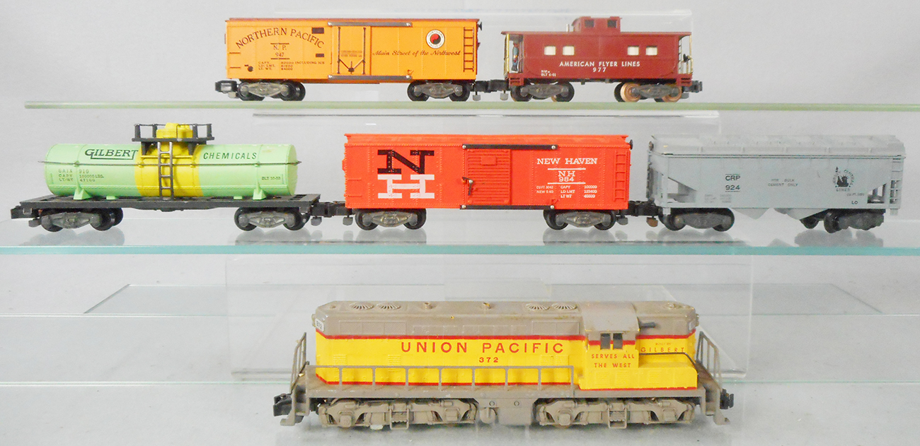American Flyer New Haven Box Car DECAL Set 984